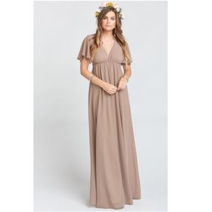 Show Me Your Mumu Faye Flutter Maxi Dress
